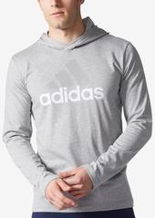 adidas Men's Logo Jersey Hoodie