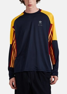 adidas Men's Logo-Print Jersey Long-Sleeve T-Shirt