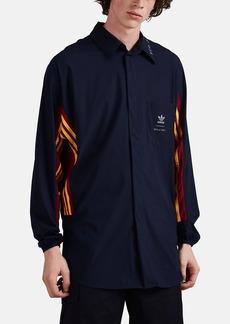 adidas Men's Logo-Print Jersey Oversized Shirt