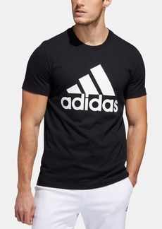 adidas Men's Badge of Sport Logo Tee