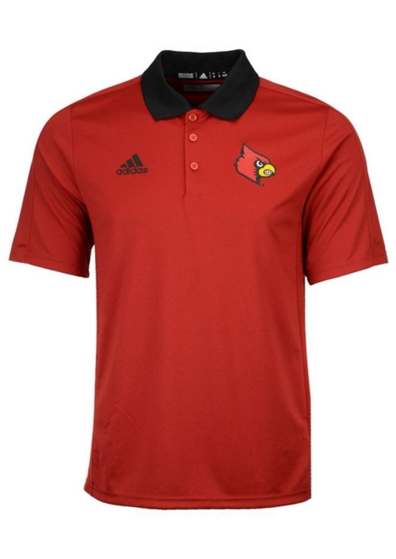 adidas Men's Louisville Cardinals 2017 Coaches Polo