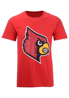 adidas Men's Louisville Cardinals Branded Big Logo T-Shirt