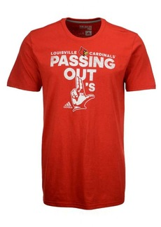 adidas Men's Louisville Cardinals Passing Out L's T-Shirt