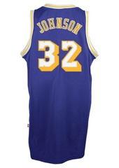 adidas Men's Magic Johnson Los Angeles Lakers Retired Player Swingman Jersey