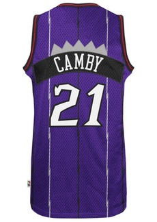 adidas Men's Marcus Camby Toronto Raptors Retired Player Swingman Jersey