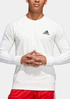 adidas Men's Marquee Logo Long-Sleeve T-Shirt