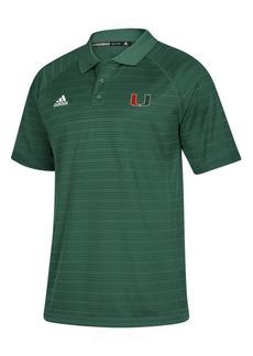 adidas Men's Miami Hurricanes Select Polo