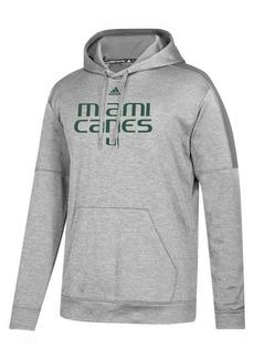 adidas Men's Miami Hurricanes Team Issue Fleece Hoodie