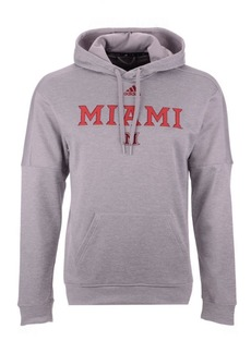 adidas Men's Miami (Ohio) Redhawks Team Issue Fleece Hoodie