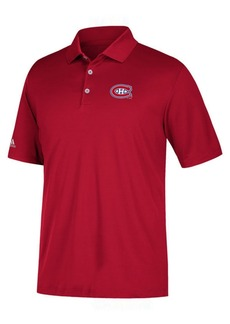 adidas Men's Montreal Canadiens Power Play Primary Polo