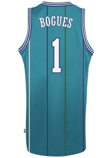 adidas Men's Muggsy Bogues Charlotte Hornets Retired Player Swingman Jersey