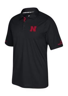 adidas Men's Nebraska Cornhuskers Sideline Climachill Polo