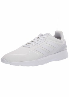 adidas Men's Nebzed Parley Primeblue Cloudfoam Regular Fit Running Sneakers Shoes ftwr White/ftwr White/dash Grey  M US