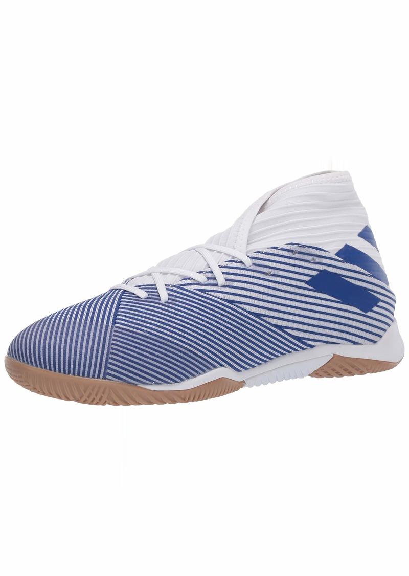 adidas Men's Nemeziz 19.3 in Sneaker FTWR White/Team Royal Blue/Team Royal Blue  M US