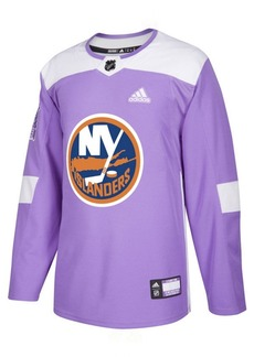 adidas Men's New York Islanders Authentic Hockey Fights Cancer Jersey