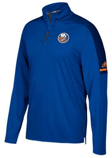 adidas Men's New York Islanders Authentic Pro Quarter-Zip Pullover