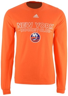 adidas Men's New York Islanders Frontline Long Sleeve T-Shirt