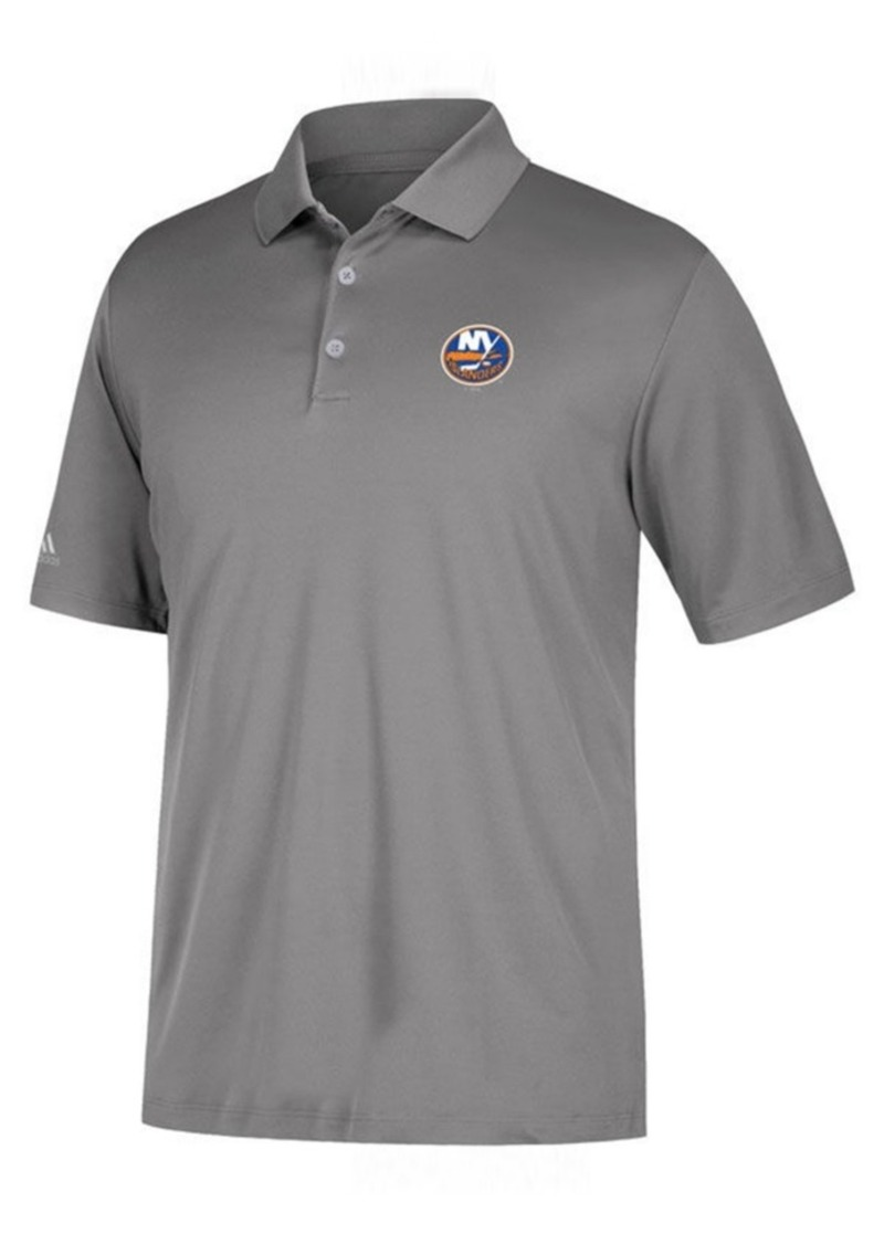 adidas Men's New York Islanders Power Play Primary Polo