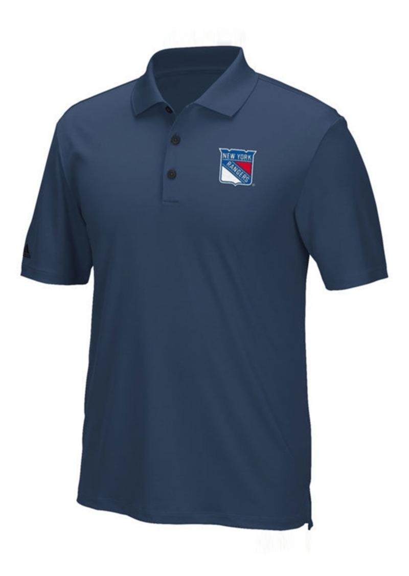 adidas Men's New York Rangers Power Play Primary Polo
