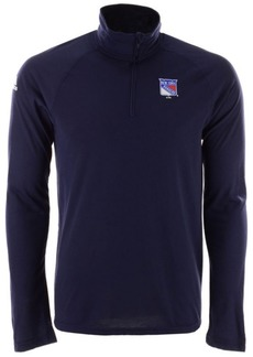 adidas Men's New York Rangers Secondary Logo Climatelite Quarter-Zip Pullover