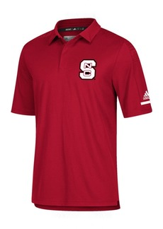 adidas Men's North Carolina State Wolfpack Team Iconic Coaches Polo