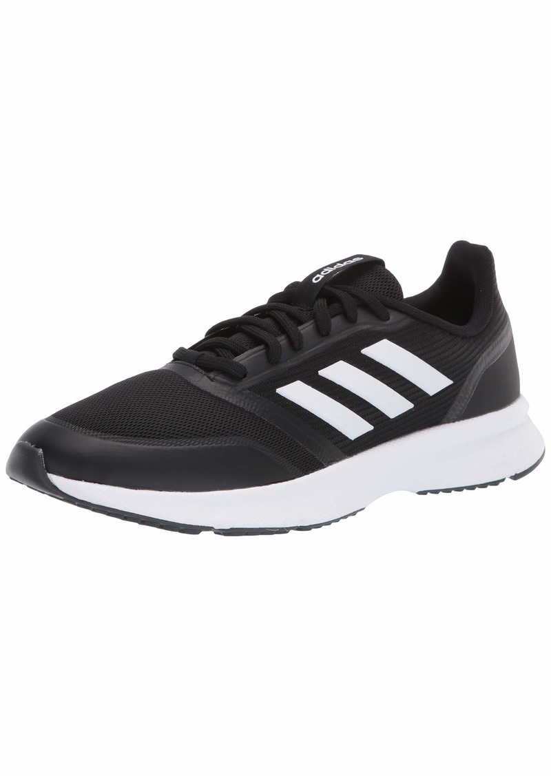 adidas Men's Nova Flow Running Shoe core Black/FTWR White/Grey Six  M US