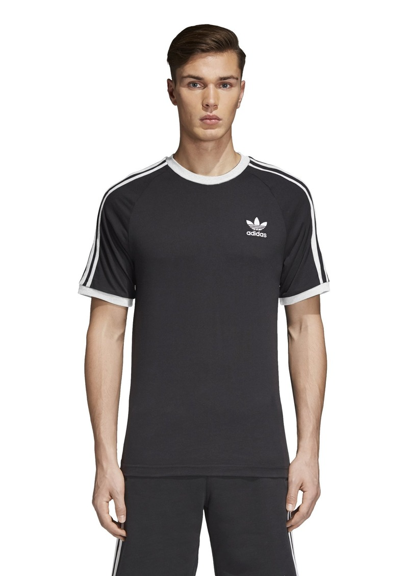 adidas Men's Originals 3 Stripes Tee  XS