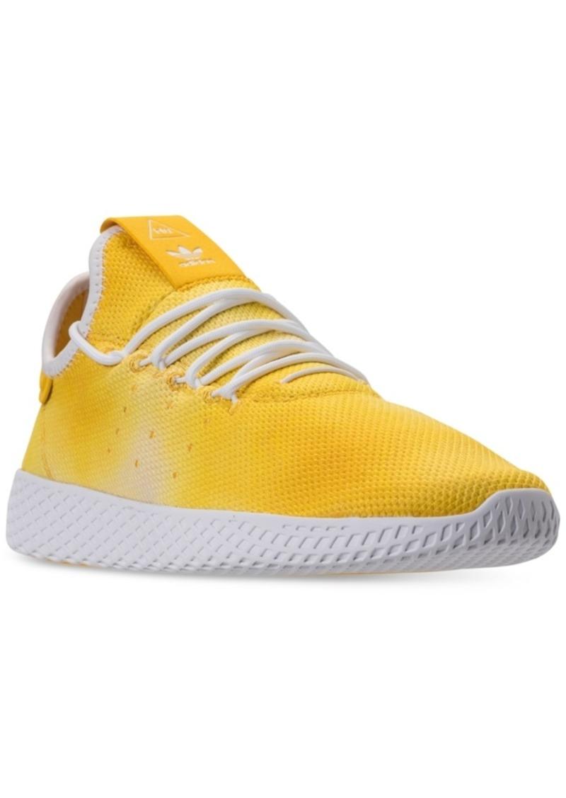 7ef123990 adidas Men s Originals Pharrell Williams Tennis Hu Casual Sneakers from  Finish Line