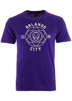 adidas Men's Orlando City Sc Linear Icon Tri-Blend T-Shirt