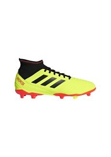 adidas Men's Predator 18.3 Firm Ground Soccer Shoe Yellow/Black/Solar red  M US