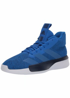 adidas Men's Pro Next 2019 Basketball Shoe Glory Blue/Collegiate Navy/FTWR White  M US