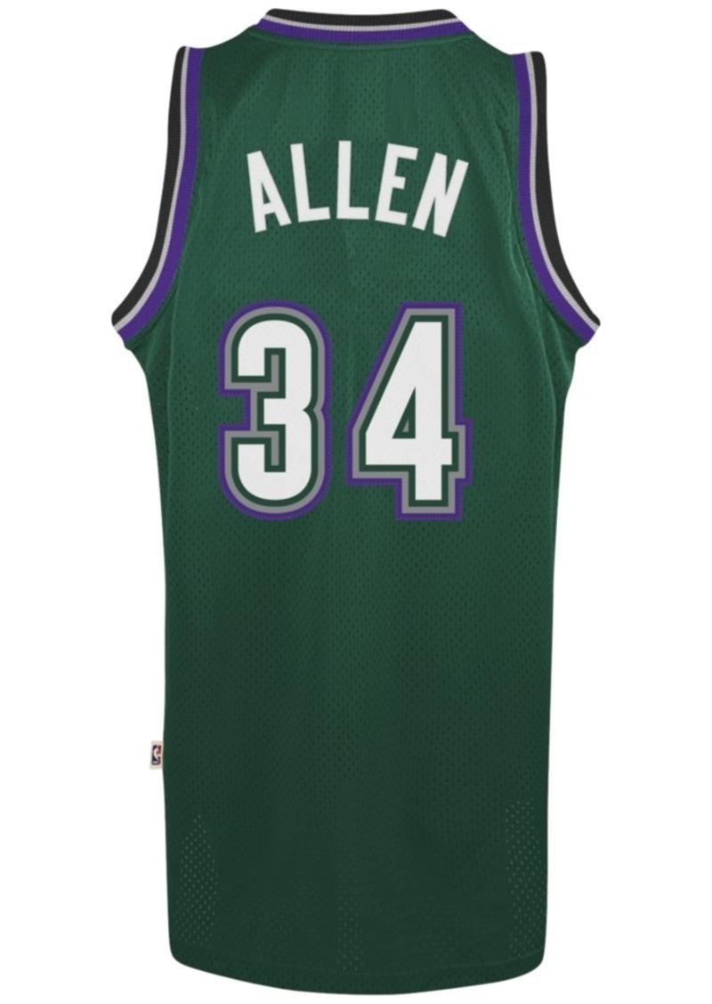 adidas Men's Ray Allen Milwaukee Bucks Swingman Jersey