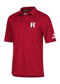 adidas Men's Rutgers Scarlet Knights Team Iconic Coaches Polo