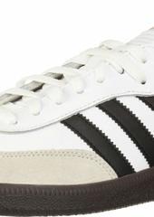 adidas Men's Samba Classic Running Shoe white/black/white  M US