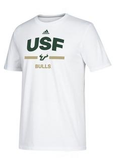 adidas Men's South Florida Bulls Sideline Speed Arch T-Shirt