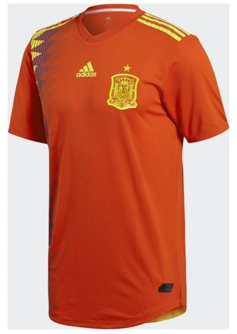 adidas Men's Spain National Team Home Stadium Jersey