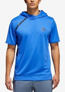 adidas Men's Sport Shooter Short-Sleeve Hoodie