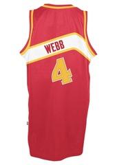 adidas Men's Spud Webb Atlanta Hawks Retired Player Swingman Jersey