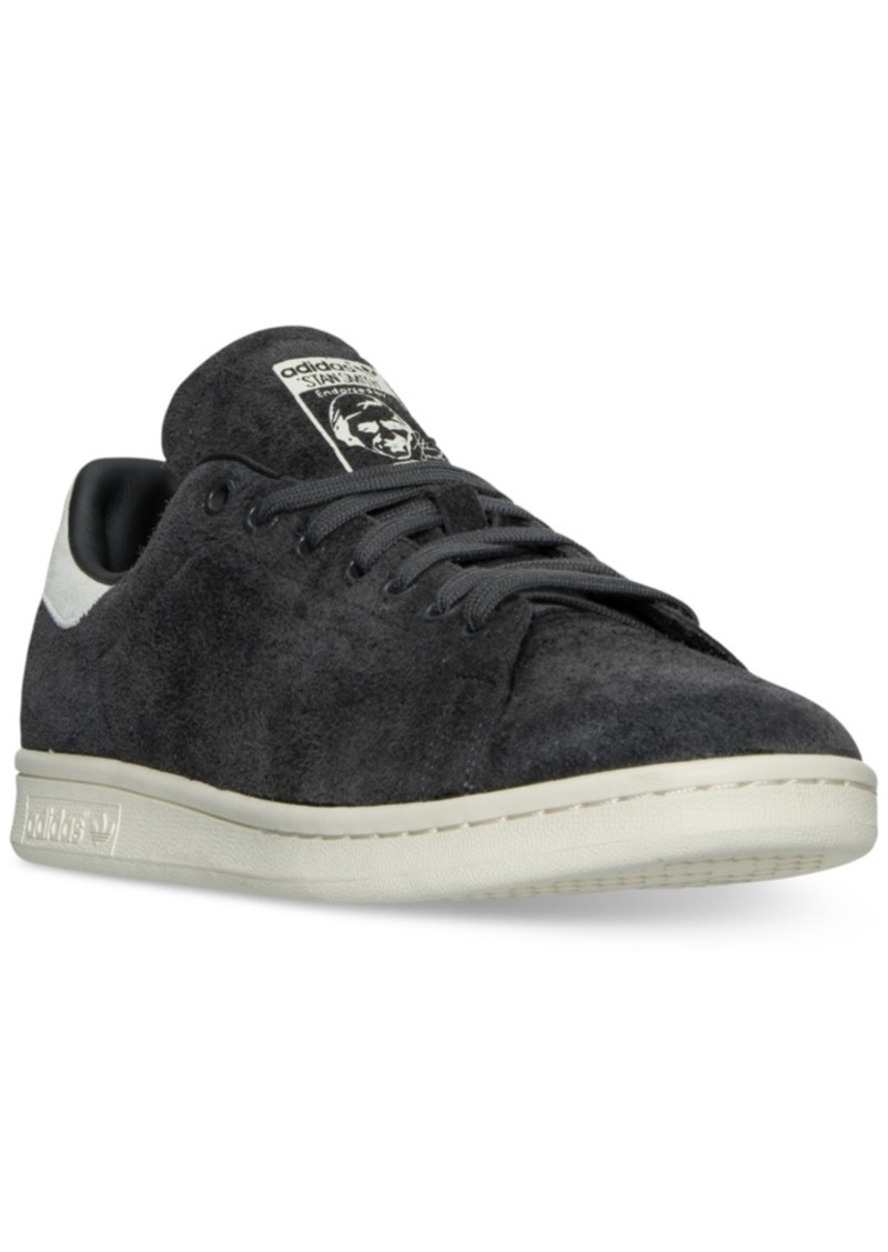 check out 13d72 ce378 Men's Stan Smith Suede Bounce Casual Sneakers from Finish Line