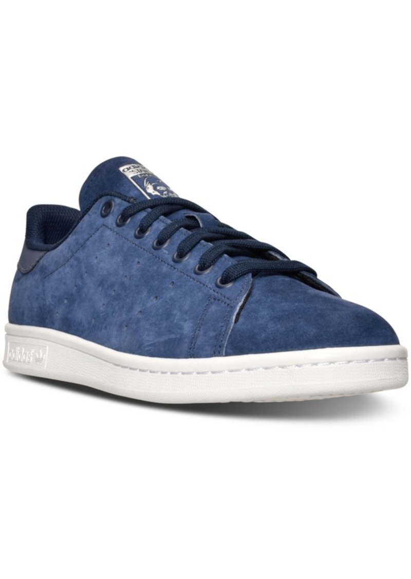 adidas Men's Stan Smith Suede Casual Sneakers from Finish Line
