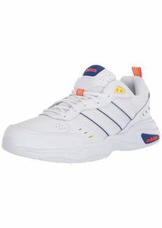 adidas Men's Strutter Sneaker ftwr White/ftwr White/shock yellow