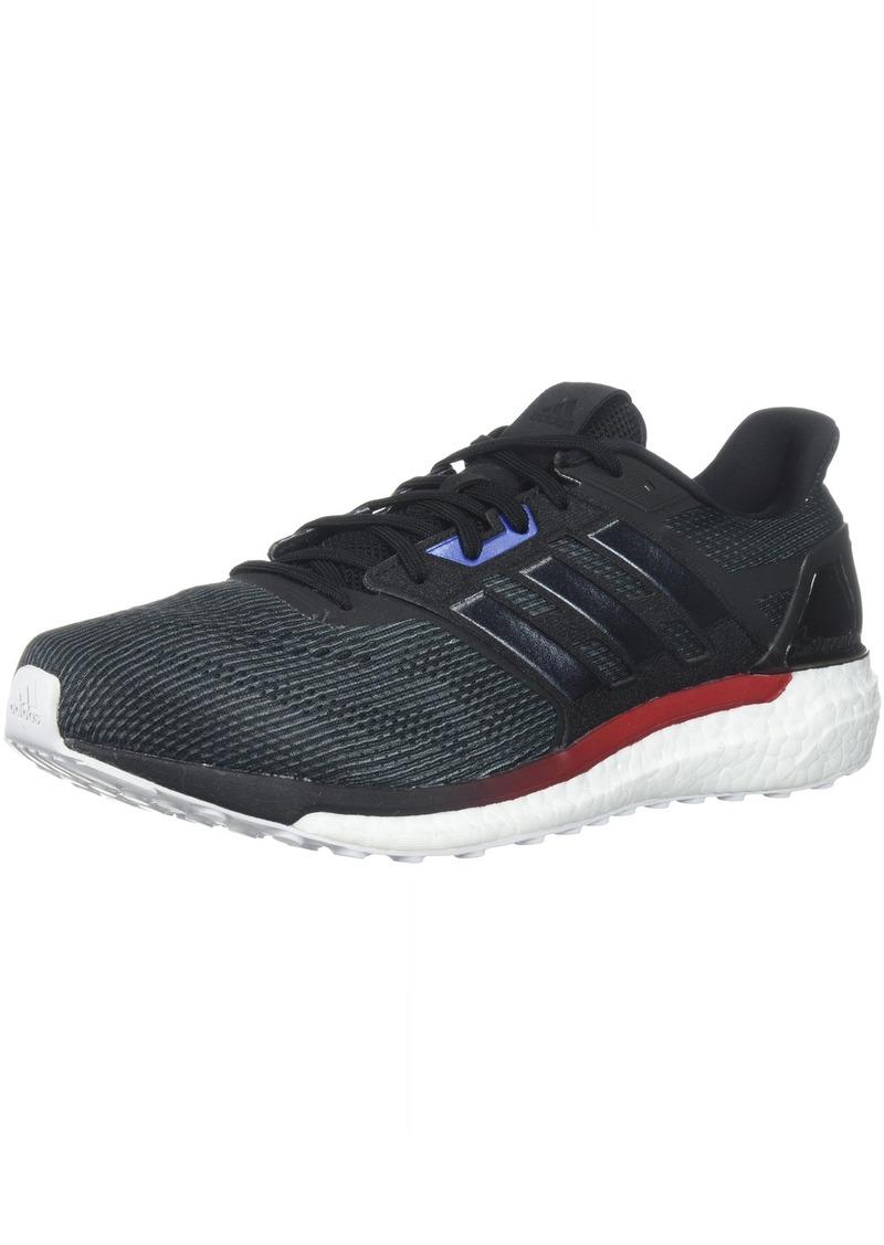 adidas Men's Supernova Aktiv Running Shoe core Black/White  M US