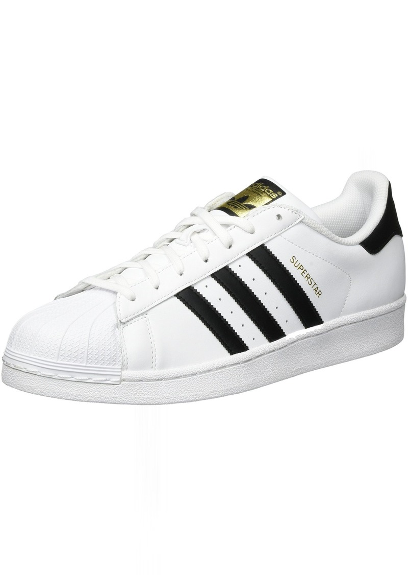 adidas Originals Men's Super-Star Sneaker White/deep Black/White