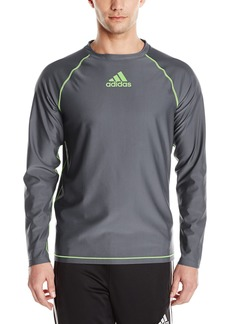 adidas Men's Swim Long Sleeve 30+ SPF Tee