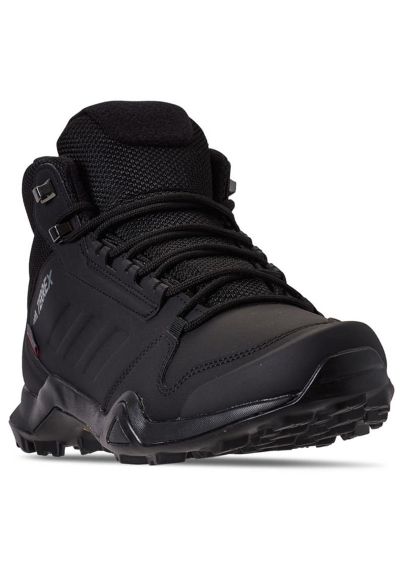 adidas Men's Terrex AX3 Beta Mid Climawarm Hiking Boots from Finish Line