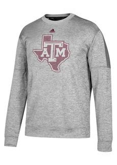 adidas Men's Texas A & M Aggies Linear Logo Crew Sweatshirt