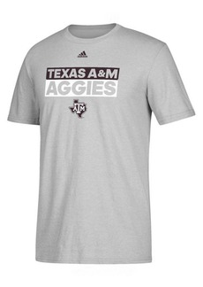 adidas Men's Texas A & M Aggies Performance Wordstack T-Shirt