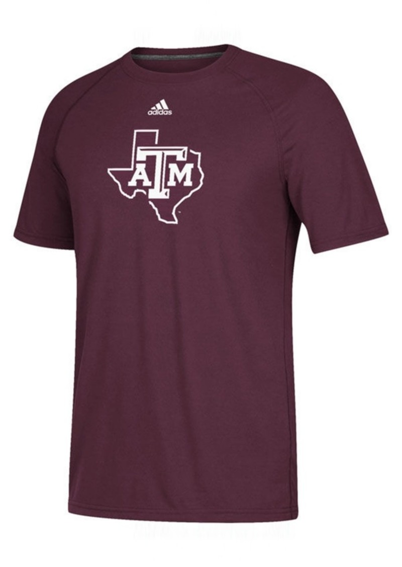 adidas Men's Texas A & M Aggies Sideline Sequel T-Shirt