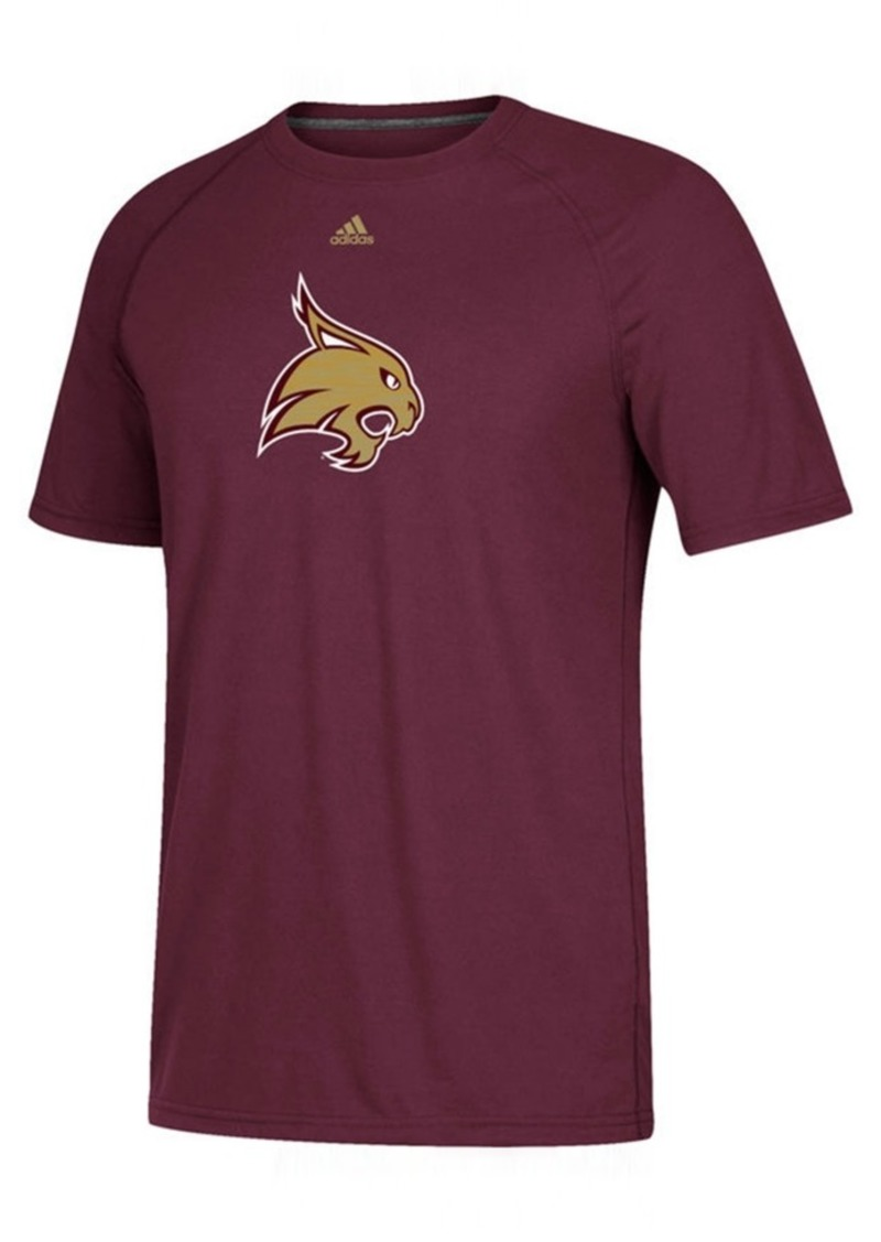 adidas Men's Texas State Bobcats Sideline Sequel T-Shirt