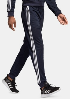 adidas Men's Essentials 3-Stripes Tapered Tricot Joggers